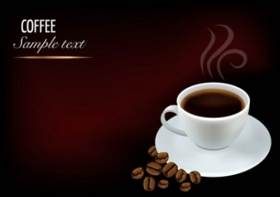 Free vector Vector background  03 element vector background beautiful coffee