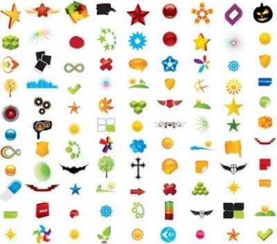 Free vector Vector misc  100 Vector Logo Design Elements