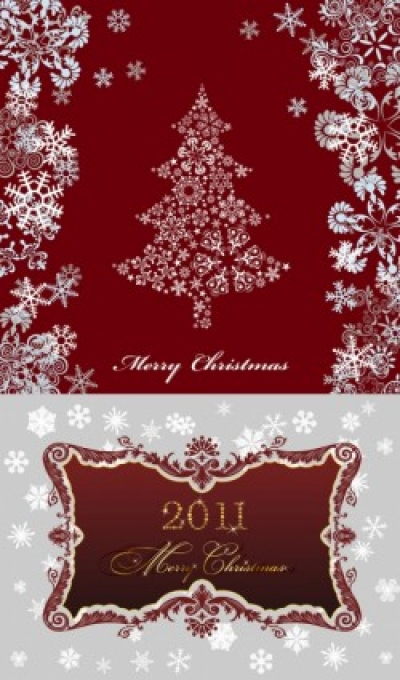Free vector Vector pattern  2011 christmas pattern vector
