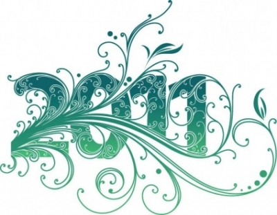 Free vector Vector misc  2011 New Year Swirl Design Vector Graphic