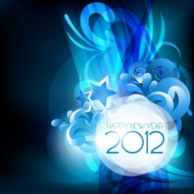 Free vector Vector background  2012 starry background 04 vector
