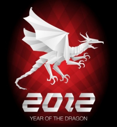 Free vector Vector misc  2012 year of the dragon 04 vector