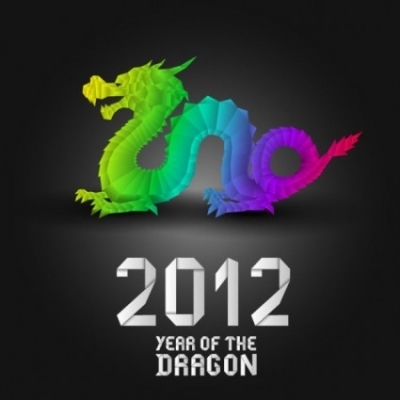 Free vector Vector misc  2012 year of the dragon design 03 vector