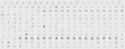 250 Free Icons For Web Design