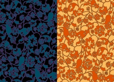 Free vector Vector background  2color pattern background vector messy stroke