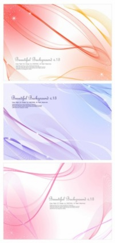 Free vector Vector abstract  3 lines abstract background vector