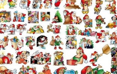 Free vector Vector background  46 lovely Christmas vector illustration background material