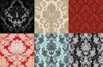 Free vector Vector pattern  6 shades of fashion pattern vector