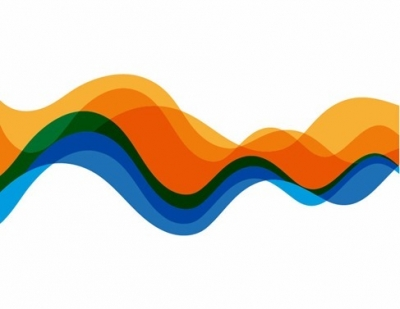 Abstract Waves Color Abstract Background Vector Graphic