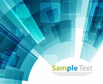 Blue Concept Abstract Background Vector Graphic