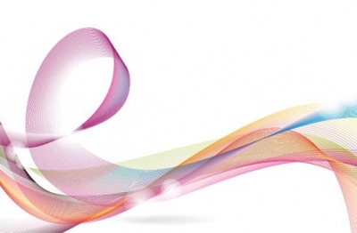 Designed Colorful Abstract Wave Background Vector Graphic