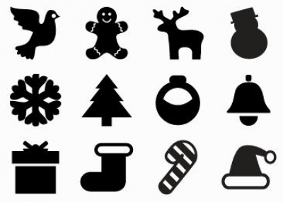 Holiday Mobile App Icons