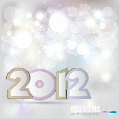 Free vector Vector background  a dazzling snowflake background 02 vector