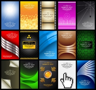 Free vector Vector background  a variety of card background vector