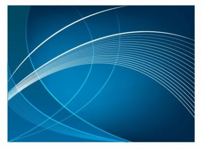 Free vector Vector background  Abstract blue curve background