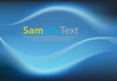 Free vector Vector abstract  Abstract Blue Wave Background Vector