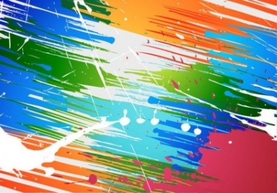 Free vector Vector abstract  Abstract Brush Paint Splashes Vector Background