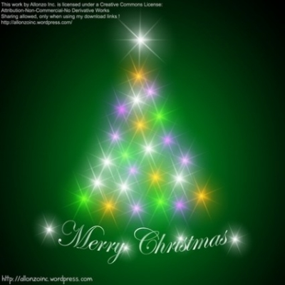 Free vector Vector abstract  Abstract Christmas Tree Background