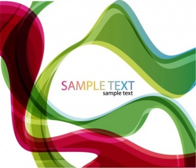 Free vector Vector abstract  Abstract Color Waves Background