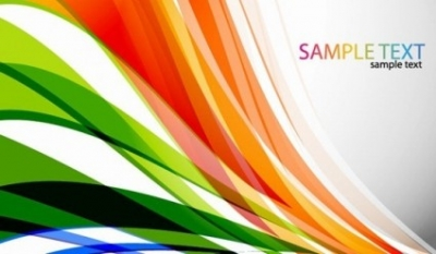 Free vector Vector abstract  Abstract Colored Curves Vector Background