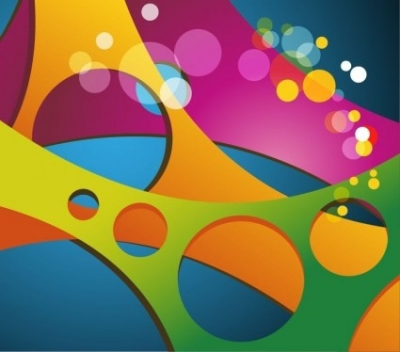 Free vector Vector abstract  Abstract Colored Vector Background