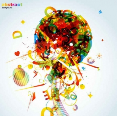 Free vector Vector background  Abstract colorful background elements