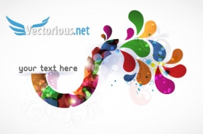 Free vector Vector abstract  abstract colorful background vector illustration