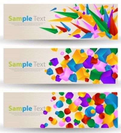 Free vector Vector banner  Abstract Colorful Banner