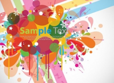 Free vector Vector abstract  Abstract Colorful Design Background Vector