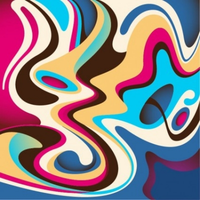 Free vector Vector abstract  Abstract Colorful Flow Background Vector Graphic