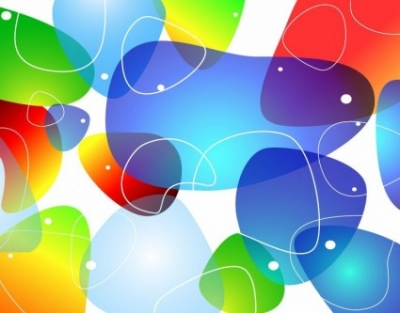 Free vector Vector abstract  Abstract Colorful Glossy Vector Background
