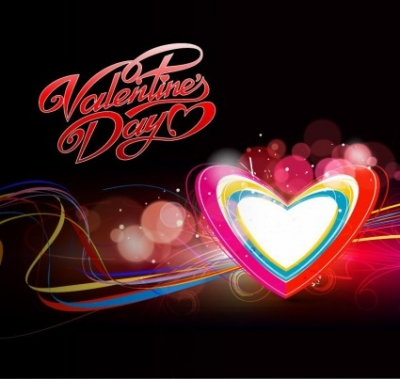 Free vector Vector abstract  Abstract Colorful Hearts Background Vector Illustration