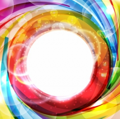 Free vector Vector abstract  Abstract colorful shiny swirl
