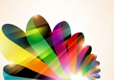 Free vector Vector abstract  Abstract Colorful Vector Background 2
