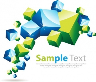 Free vector Vector abstract  Abstract Cube Background