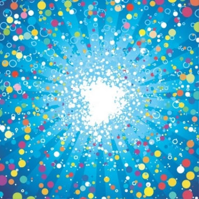 Free vector Vector abstract  Abstract Fancy Dots Background Vector
