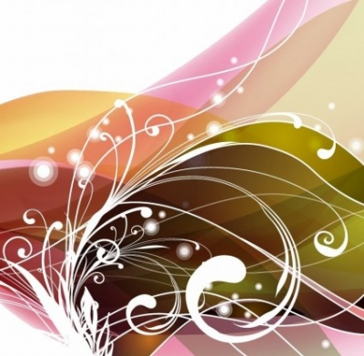 Free vector Vector floral  Abstract Floral Background Vector