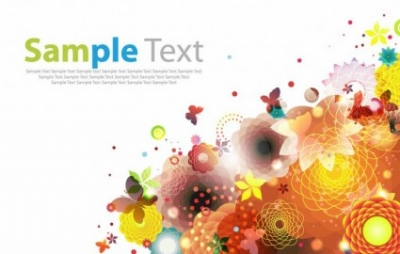 Free vector Vector abstract  Abstract Floral Background Vector Art
