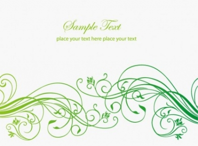 Free vector Vector abstract  Abstract Floral Background with Place for Your Text