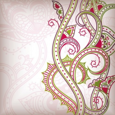Free vector Vector abstract  abstract floral pattern background 02 vector