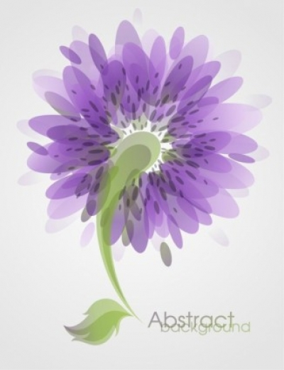 Free vector Vector abstract  Abstract Flower Background Vector Art