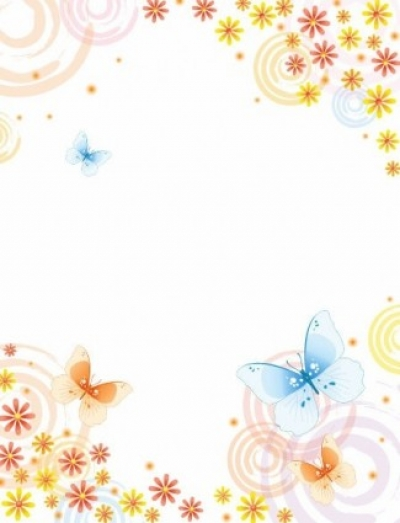 Free vector Vector abstract  Abstract Flower with Butterfly Vector Background