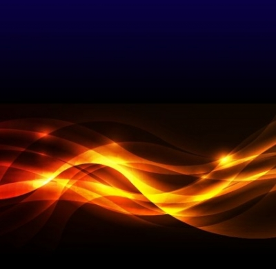 Free vector Vector abstract  Abstract Golden Glow Background Vector Illustration