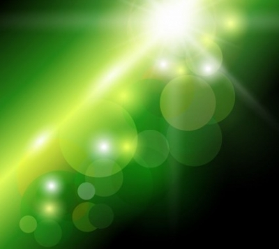 Free vector Vector abstract  Abstract Green Bokeh Background