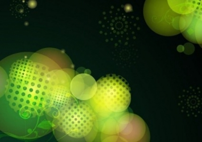 Free vector Vector abstract  Abstract Green Bokeh Design Vector Background