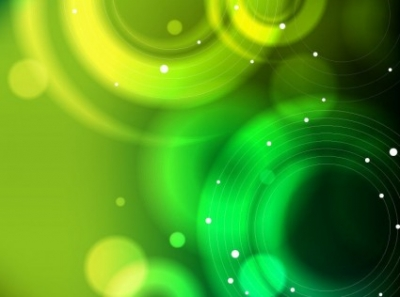 Free vector Vector abstract  Abstract Green Bokeh Vector Background