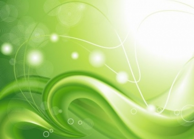 Free vector Vector abstract  Abstract Green Curves Background Vector Graphic