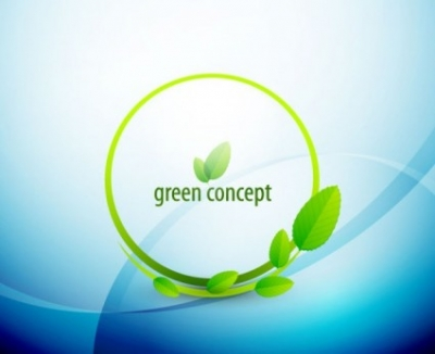 Free vector Vector abstract  abstract green leaf background 03 vector
