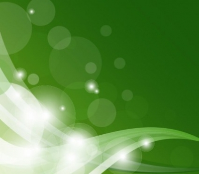 Free vector Vector background  Abstract Green Shiny Wave Background