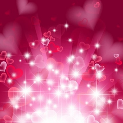 Free vector Vector abstract  Abstract Heart Background in Pink